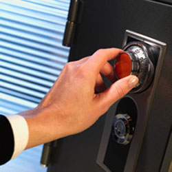 Safe box Availability of locksmiths services